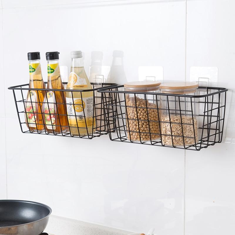 Iron Kitchen Hanging Basket Household