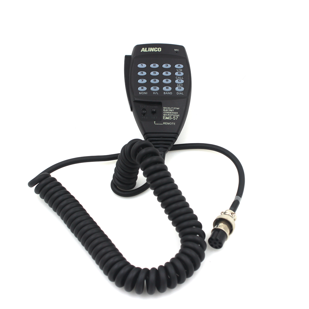 EMS-57 8pin DTMF Handheld Speaker Mic Microphone For Alinco  HF/Mobile DX-SR8T DX-SR8E DX-70T DX-77T With Free Shipping