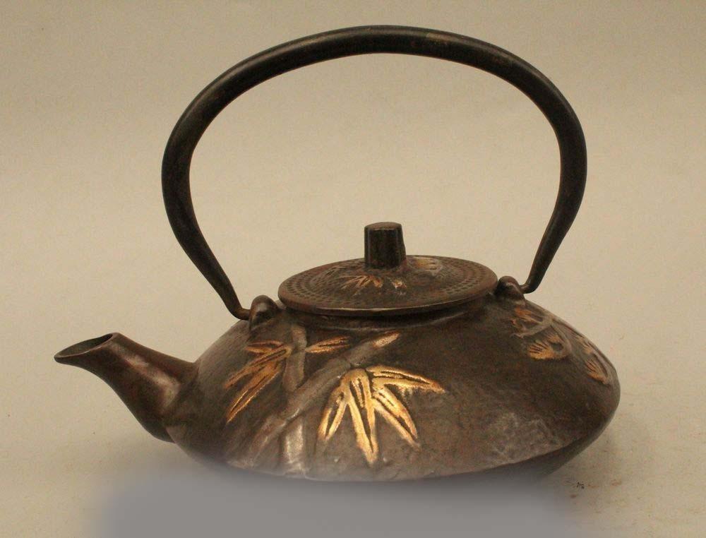 6Archaic Japan Japanese Iron Lucky Bamboo Kettle Wine Tea Pot Flagon DSD666Archaic Japan Japanese Iron Lucky Bamboo Kettle Wine Tea Pot Flagon DSD66