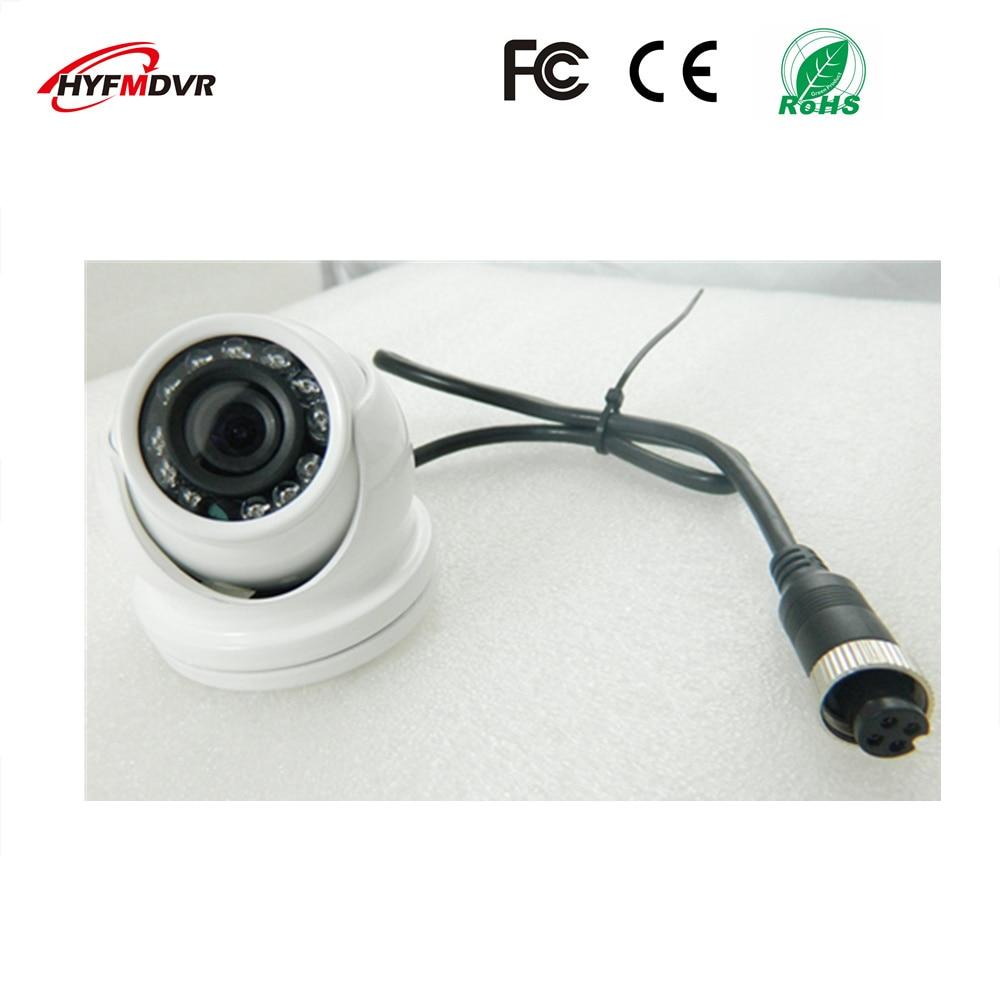 все цены на  CMOS / SONY 600TVL 1 inch White surveillance camera metal case AHD720/960P/1080P HD waterproof bus probe  онлайн