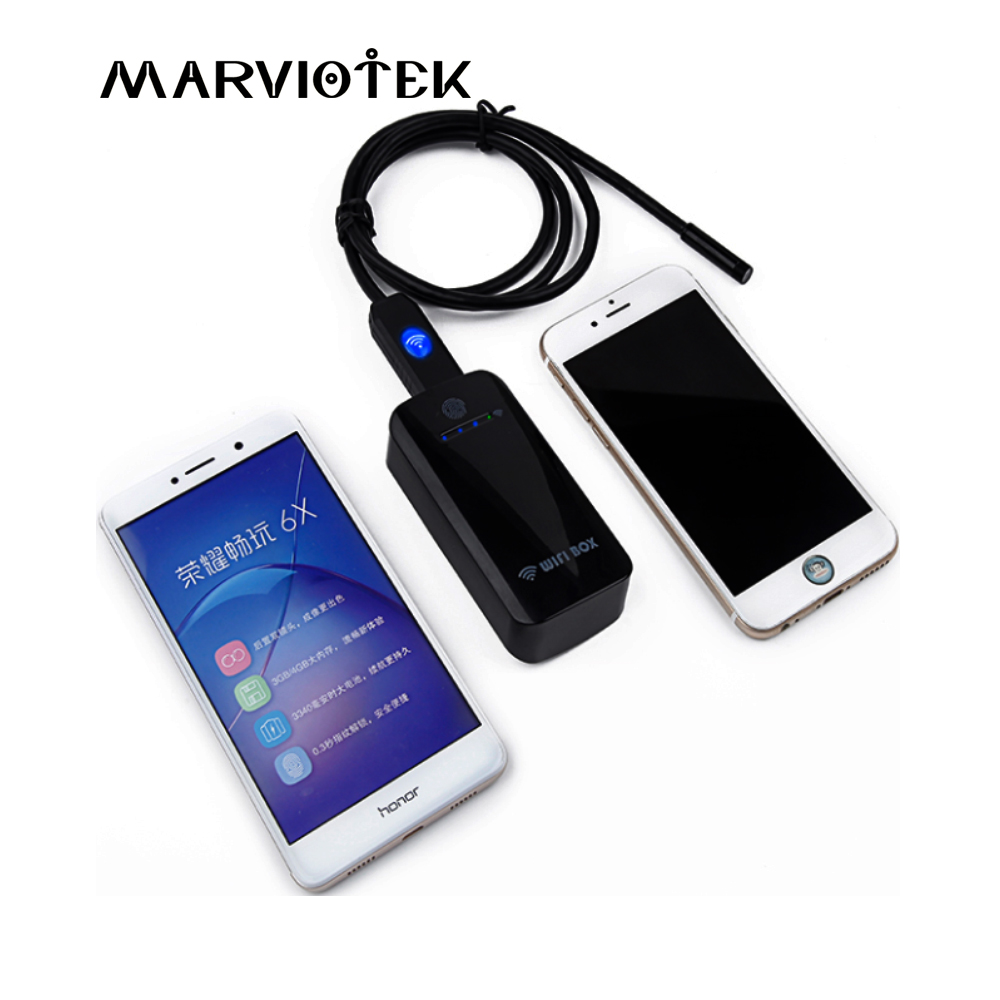 wifi endoscope camera 7mm dia android endoscope hd IOS iphone endoscope inspection camera 1/2/5/10/20M usb endoscope cameras