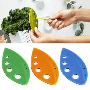 1PC Kale Chard Collard Greens Herb Stripper Looseleaf Loose Leafs Vegetable Tools Kitchen Gadgets New Arrival Random Color image