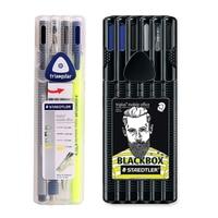 STAEDTLER 34 SB Triangle Neutral Pen Ballpoint Pen Highlighter Pencil Set