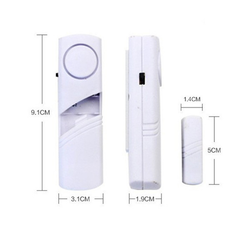 1Pc Wireless Door Window Burglar Alarm With Magnetic Sensor Door Entry Anti Thief Home Alarm System Security Device Wholesale in Alarm System Kits from Security Protection