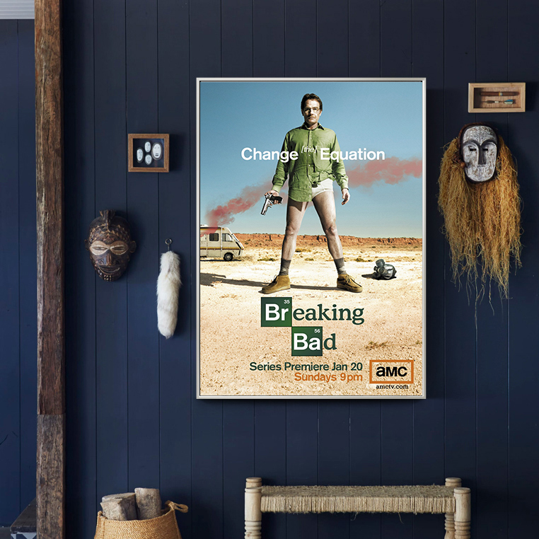 custom canvas posters and prints breaking bad wall painting wall