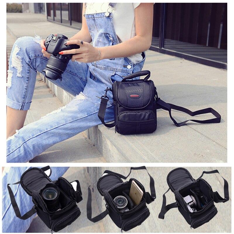 DSLR Camera Bag Case For Canon EOS 200D 100D 1100D 1200D 1300D SX540 SX530 SX510 SX60 SX50 SX100 M100 M10 M6 G1X2 G1X G15 G16 M2