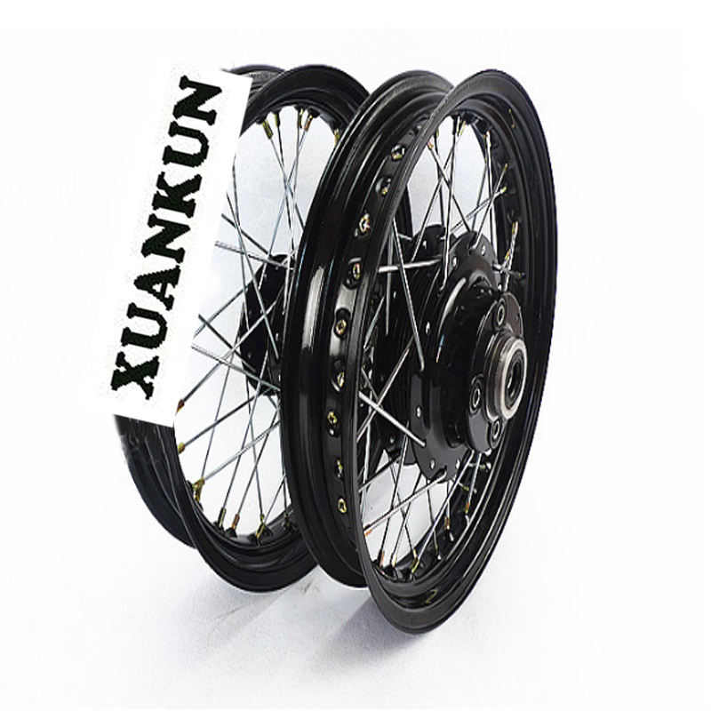 XUANKUN Motorcycle Accessories Modified Wheel Front Disc Brake Drum Brake after 275-15 275-15 xuankun modified four wheel electric motorcycle self made karting accessories front suspension rocker steering brake system