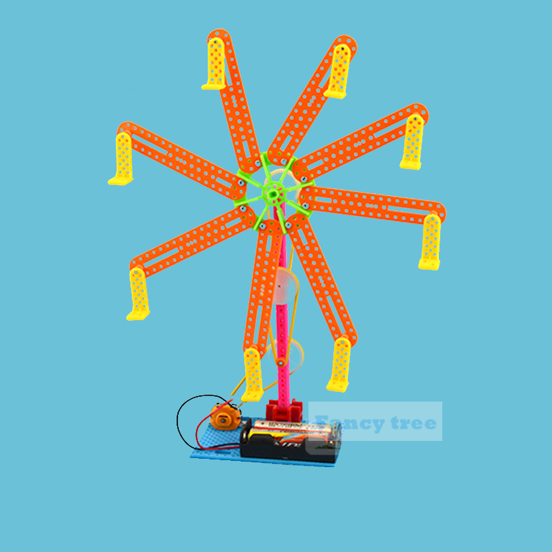 Science  Experiment Assemble DIY Ferris Wheel Phsical Projects Kids  Kits Toy Invention Innovation Creative Education