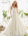 Nova Moda de Cristal Elegante Longo de Uma Linha de Vestido de Noiva 2016 Backless Beading Apliques Vintage vestidos de Noiva Robe De Mariage