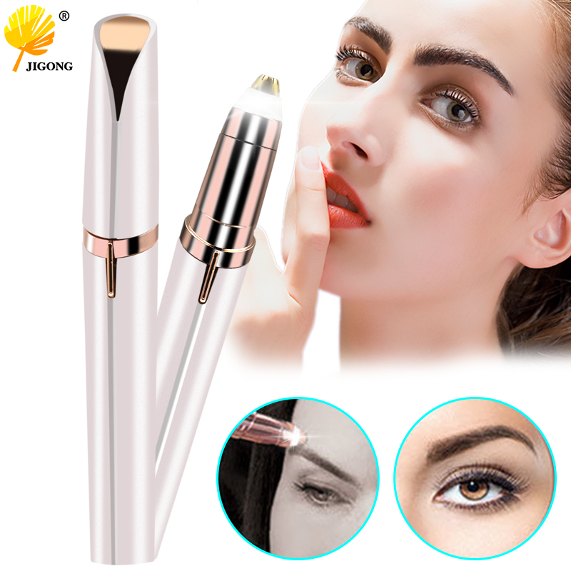 Mini Eyebrow Shaver Instant Painless Electric Face Brows Hair Remover Epilator Portable Epilator Tool Kit