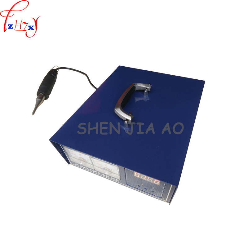 1pc 220V 300W Portable plastic welding machine ultrasonic plastic welding machine can welder PE material цены онлайн