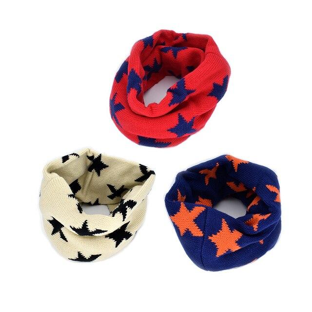 1 UNIDS Ropa accesorios bufanda de cuello redondo invierno niños ...
