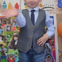 Mingkids gentleman sets for boy shirt+vest+tie 3pcs/set party school export Europe