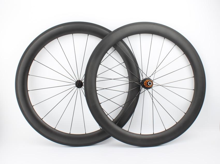 Farsports FSC60 CM 23 ED HUB UD carbon fiber basalt braking wheel,23mm wide U shape road bike wheelset with High TG brake