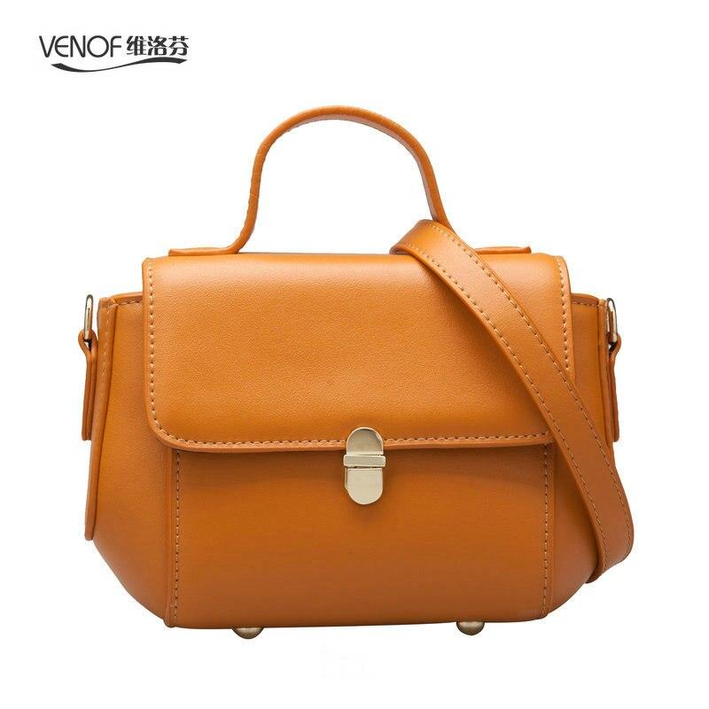 VENOF Fashion flap bag women handbags split leather female Messenger bag Mini Ladies Shoulder Bag simple crossbody bag for women стоимость