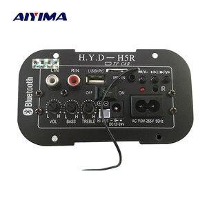 Image 1 - AIYIMA caisson de basses amplificateur carte voiture Bluetooth Audio amplificateurs 12V 24V 220V pour 5 8 pouces haut parleurs bricolage