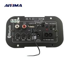 AIYIMA płyta wzmacniacza subwoofera samochodowy bluetooth wzmacniacze audio 12V 24V 220V dla 5 8 calowych głośników DIY