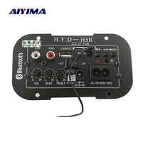 Aiyima Subwoofer Amplifier Board Car Bluetooth Audio Amplifiers 12V 24V 220V For 5 8inch Speakers DIY