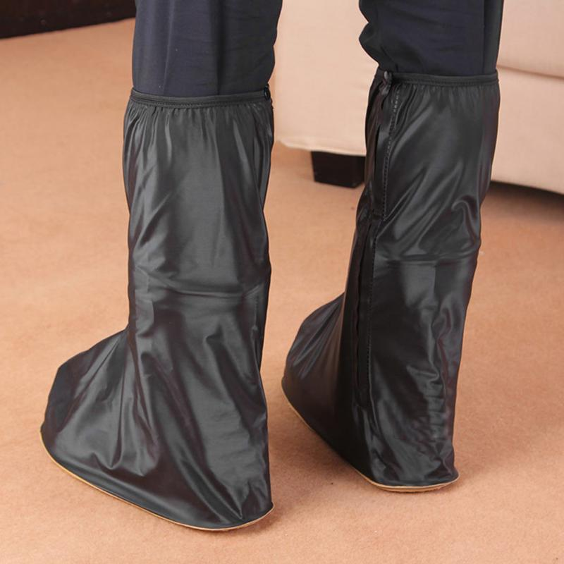 Motorcycle Waterproof Rain Shoes Covers Thicker Scootor Non-slip Boots Covers 100% Waterproof Adjusting Tightness covers