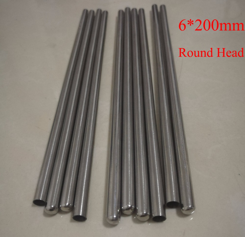 Lot Latest Technology 4mm*100mm Grade A Quality Ss304 One End Closed Stainless Steel Pipe Sleevesthermocouple Protection Tube 10pcs Plumbing