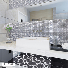 Decorative Waterproof 3D Mosaic Brick Wall Stickers for Home Decor