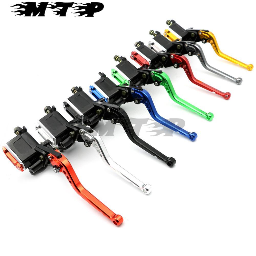 все цены на Motorcycle Brake Pump Brake Master Cylinder Regular Clutch Levers  For Honda CB1000R CBR600RR CBR600RR 7/8