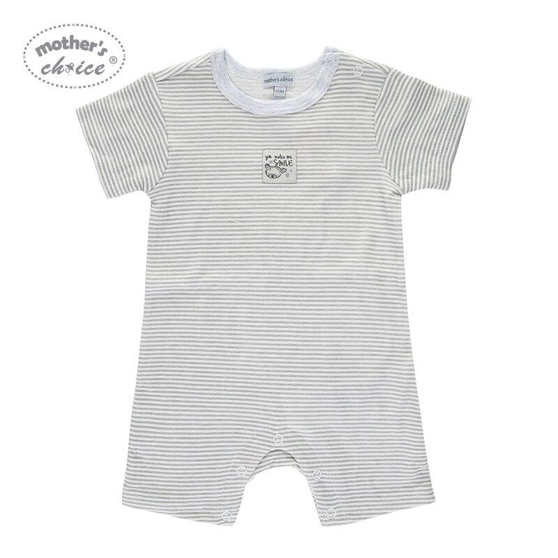 Moederdag Keuze Zomer Korte 2 stks / partij Baby Rompertjes Katoen - Babykleding - Foto 3