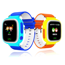 Interpad Смарт-Детские Часы Дети Ребенок Smart Watch С GPS трекер Сна Монитора Телефонный Звонок Сенсорный Экран Smartwatch PK Q50 Q100