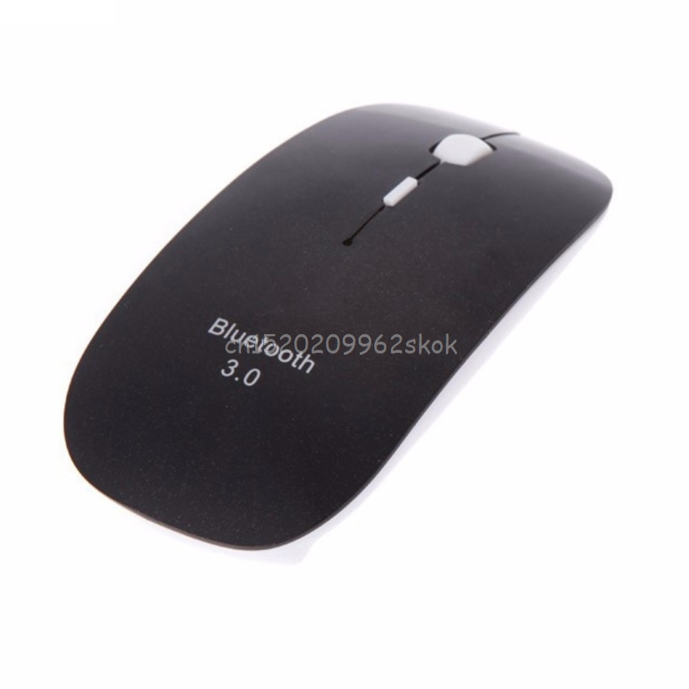 1600 DPI Supper Slim Bluetooth Wireless Optical Mouse For Windows 7/8 for Android for Macbook JUL12 dropshipping new 2016 microsoft bluetooth 4 0 mobile mouse 3600 for windows 10 8 1 8 tablet bluetooth wireless mouse