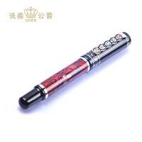 Совершенно новый Duke 510 Китайская традиционная Опера лицо картина с фонтаном ручка высокого Класс Бизнес подарочные ручки 0,5 мм Iraurita наконеч