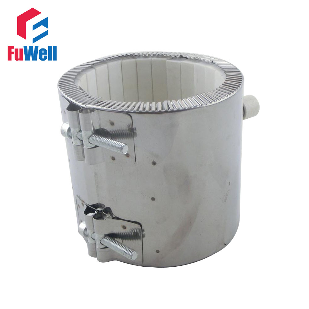 Customzied Welcomed!!!  Stainless Steel 70*70mm 1200W Ceramic Heating Electric Band Heater Element customized welcomed ceramic band heater 150 50mm d h 220v 1100w heating element