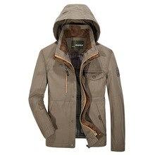 Мужские зимние Куртки и Пальто Досуг Ветрозащитный Толстые Теплые Куртки мужская С Длинным Пальто Шанца куртка Одежда больших размеров