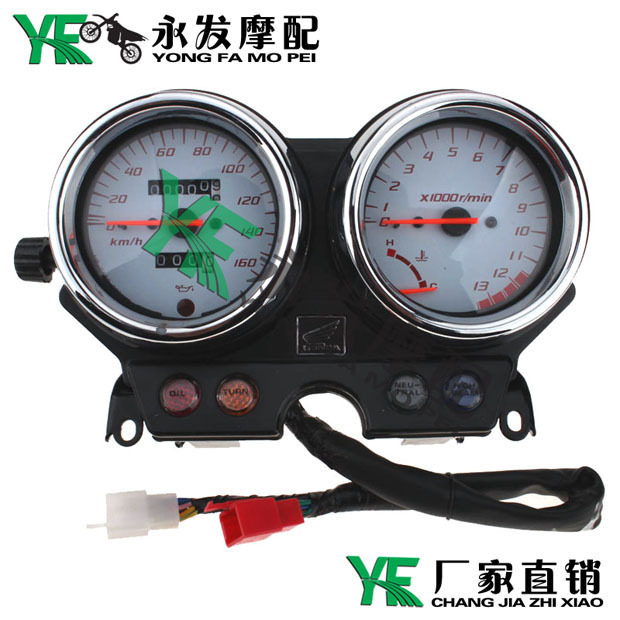 motorcycle tachometer for honda VTR250 Motorcycle Gauges Cluster Speedometer Tachometer Odometer Instrument Assembly