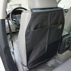 Samochód Seat powrót pokrywa Protector Kick czyste Mat Pad Anti wszedł brudne dla dziecka dla dzieci Anti Kick Pad w Ochraniacze fotela samochodowego od Samochody i motocykle na