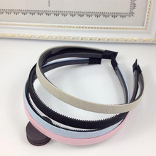 Solid Simple Style 1Piece Pure Color Hairbands Plastic Pure Color Headband Headwear For Women Girs Hair Accessory Gifts Female