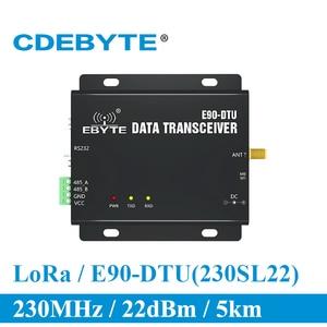 Image 1 - E90 DTU 230SL22 lora RS232 RS485 230mhz rssiリレーiot vhf無線トランシーバモジュール 22dBm送信機と受信機