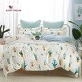 Комплект постельного белья покрывала с рисунком кактуса  Комплект постельного белья покрывала  постельное белье евро  двуспальный пододея...