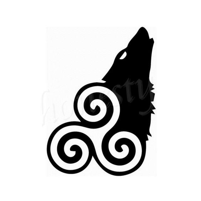 Teen wolf jdm wall glass door window home car sticker laptop auto truck vinyl black decal