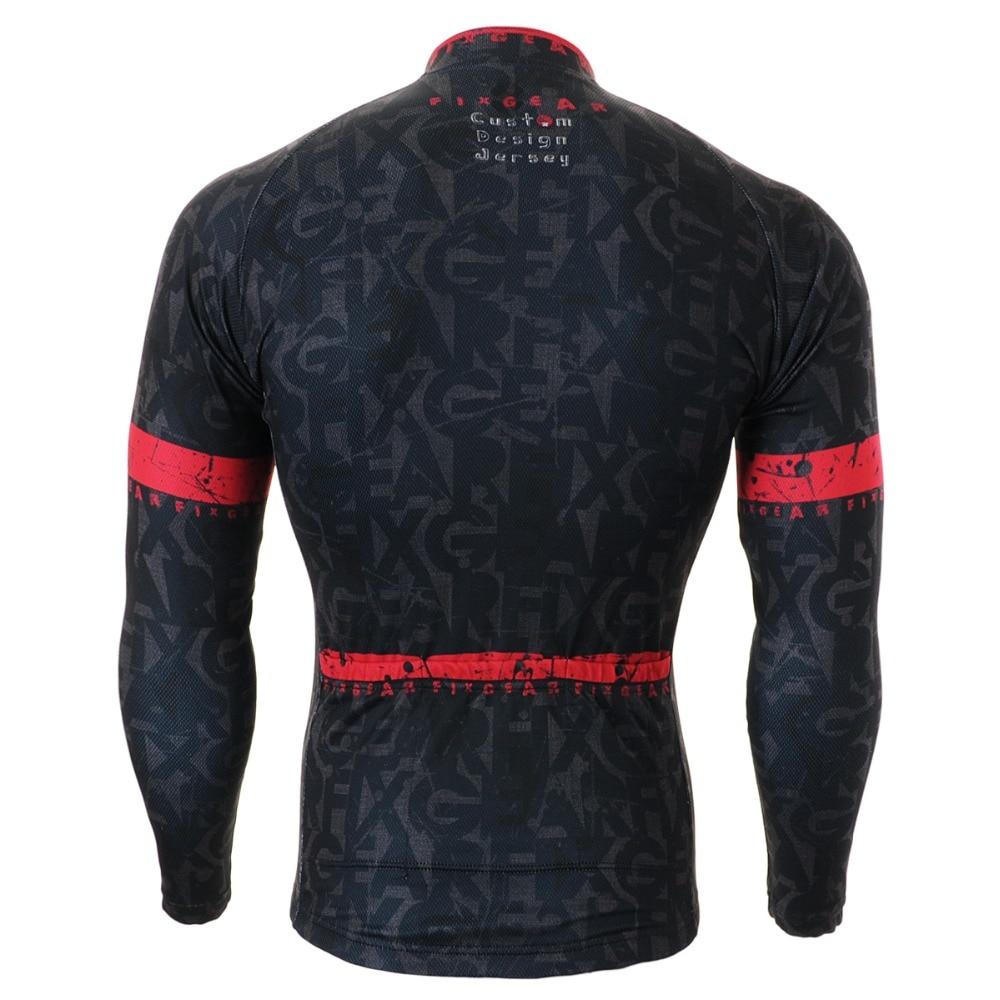 5a9fde0e8 Men s Cycling Jersey Long Sleeve Black Road Bike Shirt MTB Bicycle wear Specialized  Cycling Clothing S-3XL Cusdom Design CS-g601