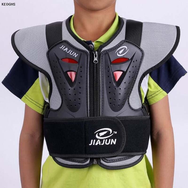 Дети ребенок девочка мальчик протектор espalda Мотокросс Body Armor одежда конного мотоцикл Грудь протектор мотокросс броня
