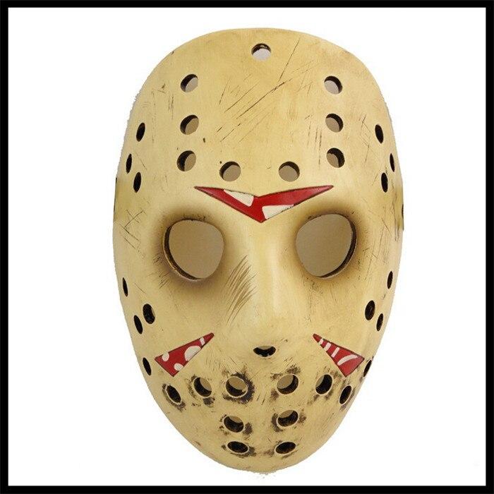 Livraison gratuite films de qualité supérieure Jason Voorhees masque Jason Freddy masque de hockey festival partie tueur Halloween mascarade masque - 4