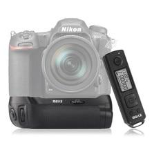 Mcoplus mk-dr500 meike empuñadura con batería vertical de profesional incorporado 2.4g de control remoto para nikon d500 cámara como en-el15 mb-d17