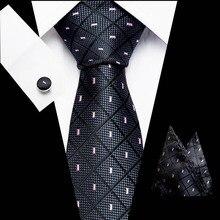 New Pink men ties set Extra Long Size 145cm*8cm Necktie navy blue Paisley Silk Jacquard Woven Neck Tie Suit Wedding Party