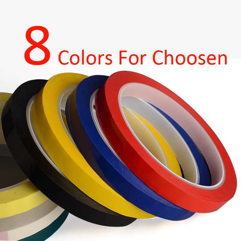 Super Strong 50M Long/roll Yellow Red Black Adhesive Insulation Tape For Transformer Motor Capacitor Coil Wrap Anti-Flame