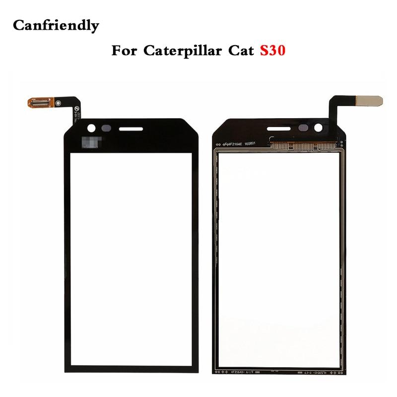 Cat S30 Screen Glass Digitizer Mobile Phone Touch Screen Panel for Caterpillar Cat S30 Cat S 30 Touchscreen Sensor Glass