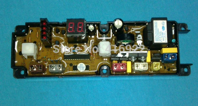 Free shipping 100% tested for Washing machine board xqb50-2038 motherboard hf-qs560-x on sale 100% tested for washing machine board wd n80051 6871en1015d 6870ec9099a 1 motherboard used board