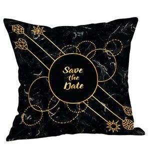 Image 1 - Pamuk keten kare ev dekoratif atmak yastık kılıfı kanepe bel yastığı kapak Dropshipping atmak yastık örtüsü yastık kılıfı