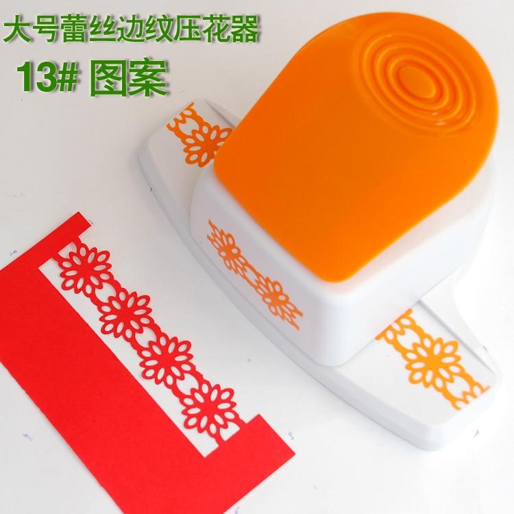 Livraison gratuite nouveau design de bordure perforateur bord artisanat poinçon pour carte de voeux à la main/papier poinçons/embosselage perforateur