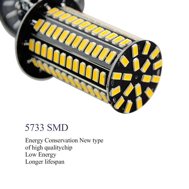 Stmievateľné 5733 SMD LED Corn žiarovky (tri úrovne stmievača) 5W -10W -15W