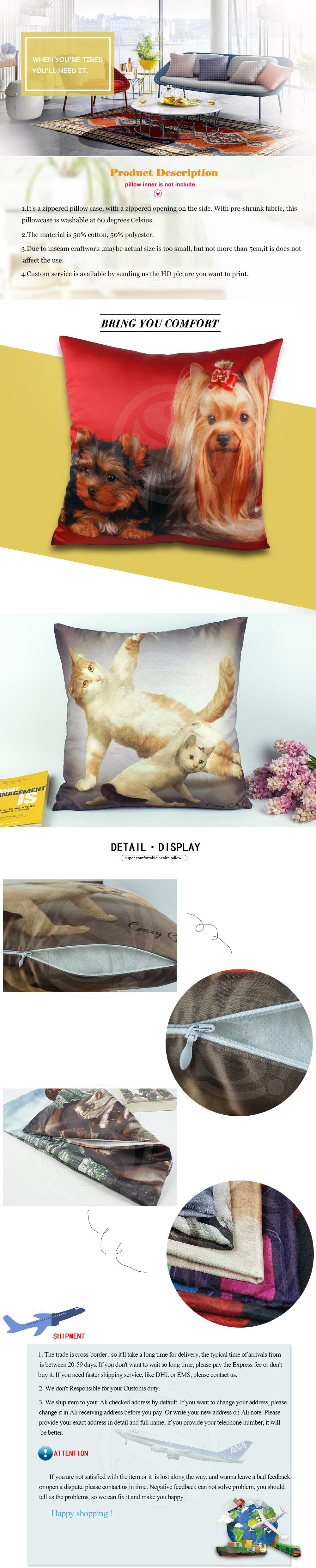 customized printing custom product detail cases linen sublimation new pillow buy